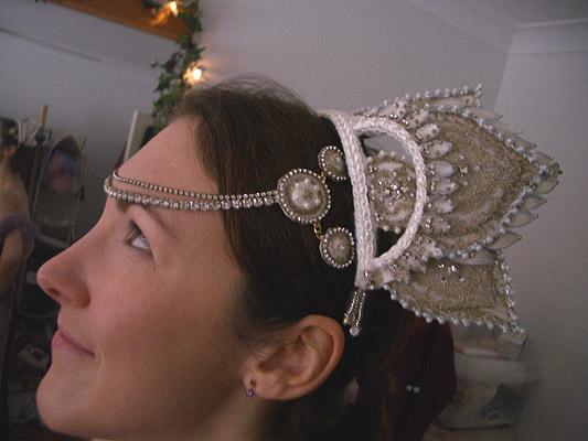 Moulin Rouge headdress