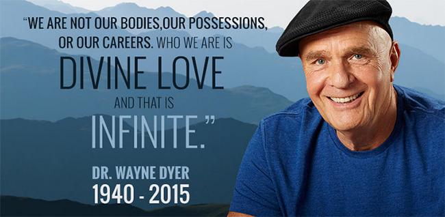 R.I.P. Dr. Wayne Dyer