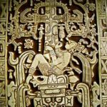 """The astronaut of Palenque""- Lord Pacal was an ancient Mayan ruler of Palenque in Mexico. Word has it he took off in a rocket ship."